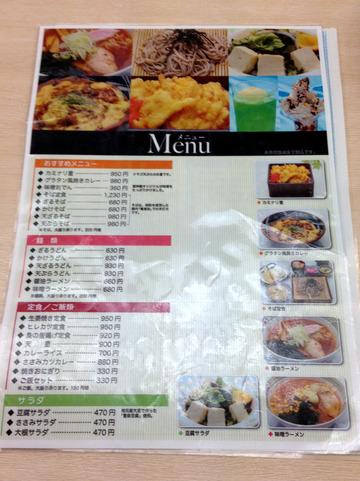 遊神館@奥平温泉 (3)絹そば(だいこんそば)780