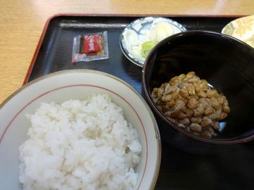 ちどり@鮫洲(11)納豆ごはんとそばセット450