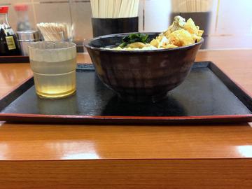 ゆで太郎@新橋赤レンガ通り店(6)かけ320かき揚100ゴボ100(20引)