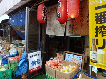 鮒宿@柴崎(2)天ぷらそば350鶏唐70×2?