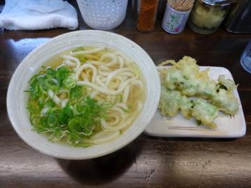おにやんま@青物横丁 (3)温並300菜の花の天ぷら100