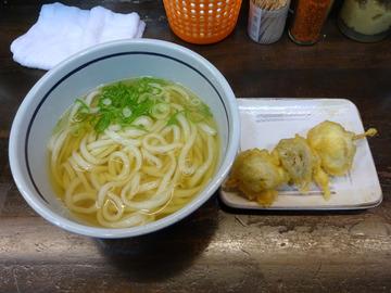 おにやんま@青物横丁 (3)温並300マッシュルームの天ぷら150
