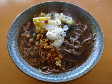 高尾製粉製麺@兵庫県 (6)播州熟成麺とろろそば298文化堂