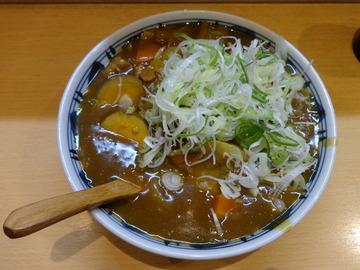 彩彩@大井町(3)カレーそば550味付け玉子100