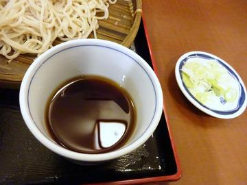 信州屋@渋谷 (8)天丼セットもりそば600