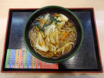 ゆで太郎芝浦4丁目店@三田 (7)肉野菜そば500