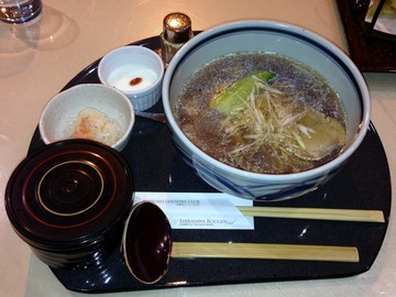 The Shirasawa Restaurant@初穂CC(2)醤油ラーメン800