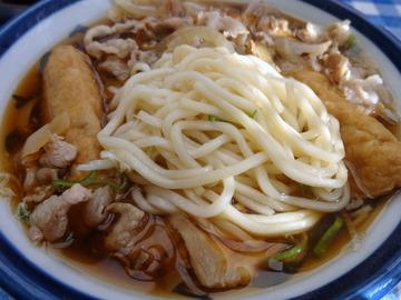 山田製麺所@瑞江(6)肉細うどん580玉子50きつね80