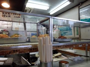 大和屋@中延 (4)冷し天ぷらそば380