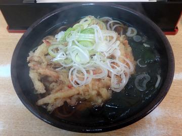 20151126ゆで太郎南品川店@青物横丁(3)かきあげそば420