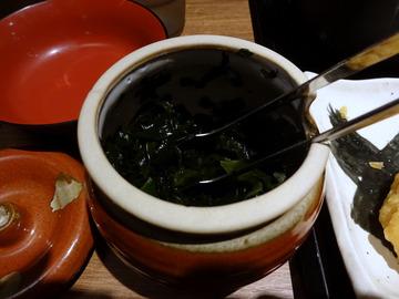 さ竹@恵比寿 (9)小ガリ鯖飯もりそば590鶏天ぷら120