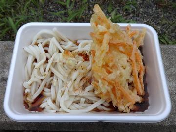 田村製麺@前橋市(10)天ぷら付弁当並305モロヘイヤ・ニンジン