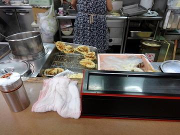 えびすや@横須賀中央(4)天ぷらそば400ゆで玉子50
