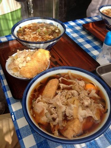 山田製麺所@瑞江(8)肉細うどん580玉子50きつね80
