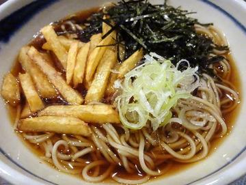 20171005蕎麦BAR HATARI@住吉 (29)花巻そば780フライドポテト