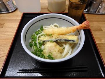 おにやんま@中目黒 (5)冷やかけ天ぷら並470
