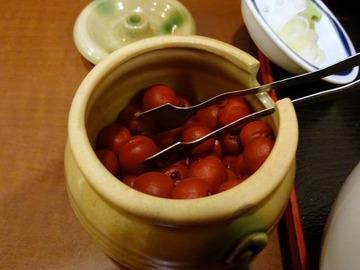 信州屋@渋谷 (12)フォアグラ玉子とじ丼セット700