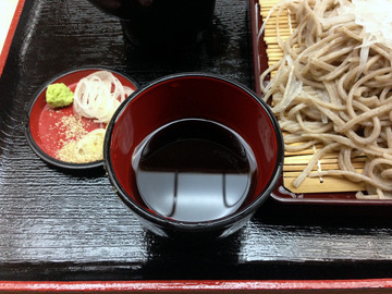 遊神館@奥平温泉 (8)絹そば(だいこんそば)780