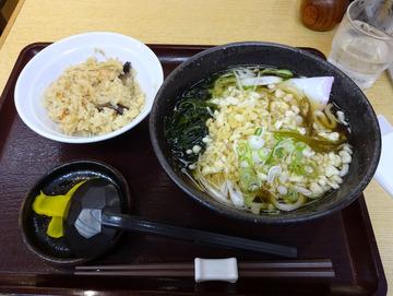 澤の井@渋谷 (12)たぬきうどんランチ650