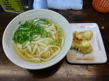 おにやんま@青物横丁 (3)温並300チョリソーウインナーの天ぷら120