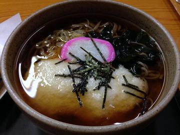 食事楽@沼田 (5)とろろそば650桜エビのかき揚げ300