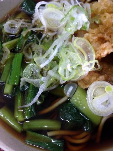 そば千@馬喰町(5)青菜そば350ゲソ110