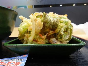 ゆで太郎芝浦4丁目店@田町 (8)タコと紅生姜のかきあげそば480