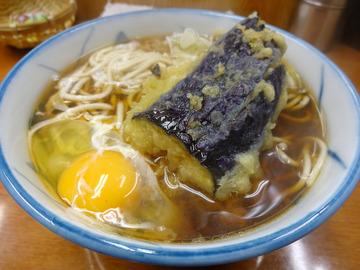 うさぎや@新橋 (4)そば280なす110卵なま60
