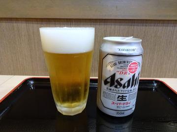 ことぶき@五反田 (4)ダブルえび天そば/もり550ビール300×2