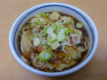 長寿庵@三ノ輪 (4)天ぷらそば340