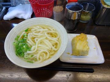 おにやんま@青物横丁 (3)温並300高野山ごま豆腐天150