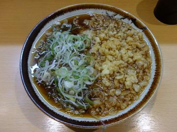 彩彩@大井町(2)たぬきそば380