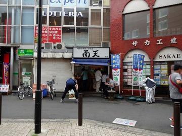 南天@椎名町 (5)肉そば430キャベツ50なめこ50温玉