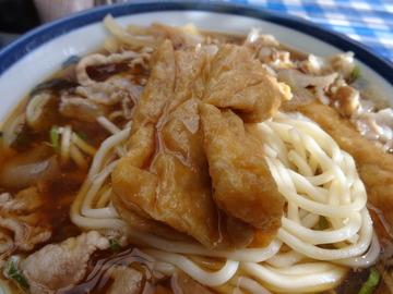 山田製麺所@瑞江(7)肉細うどん580玉子50きつね80