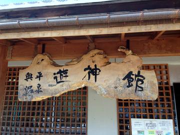 遊神館@奥平温泉 (1)絹そば(だいこんそば)780