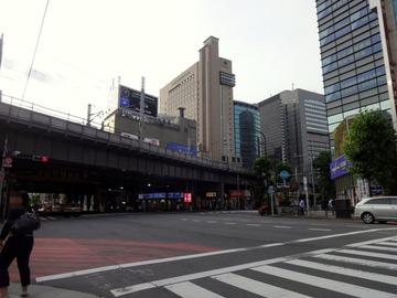 そば田@新橋(1)冷しごぼう天そば520