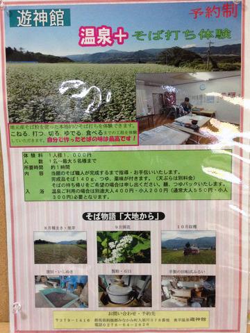 遊神館@奥平温泉 (12)絹そば(だいこんそば)780