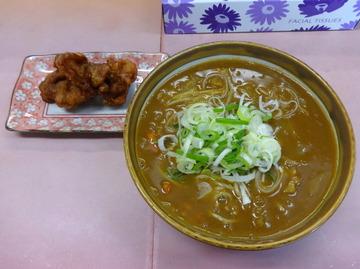 ごんべい@下入川(4)カレーそば450からあげ50×2チャーシュー350