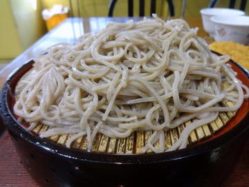 みとう庵@流通センター(4)鶏の立田揚げつけ汁蕎麦500コロッケ100