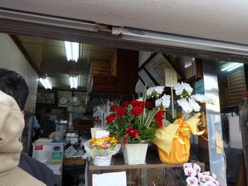 山田製麺所@瑞江(3)肉細うどん580玉子50きつね80