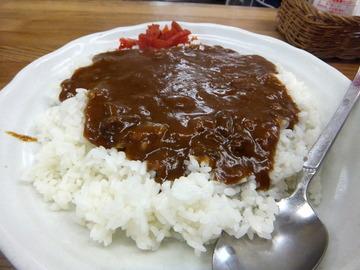 むさしの@鷺ノ宮(12)カレーライスセット天ぷらそば(やさい)620