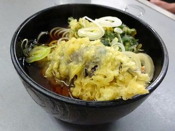 あさま@平和島 (3)いか天きしめん360ミニ牛丼260