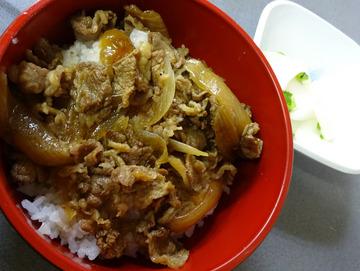 あさま@平和島 (7)いか天きしめん360ミニ牛丼260
