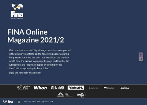 FINA Online Magazine 2021-2 - Fina