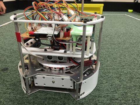 ロボット初号機完成!