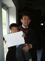 卒業できました!
