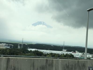 富士の頂き