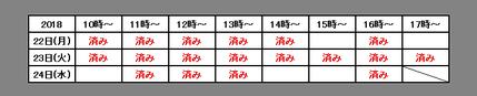 IOFT2018アポ表