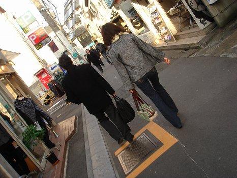 普段とは違う東京の街へ・・・・・