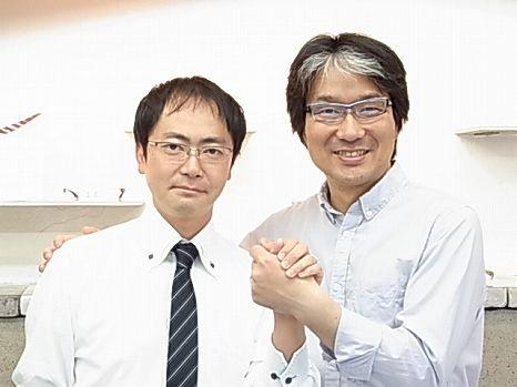 和光メガネ  根岸専務と!!